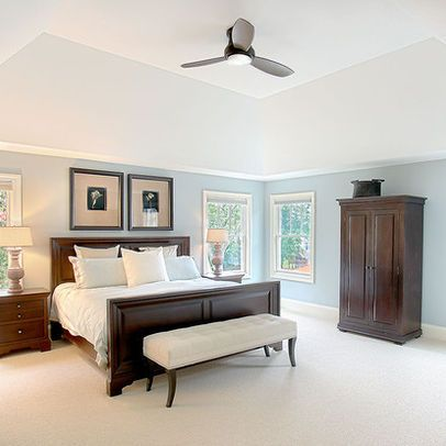 Dark wood bedroom furniture design ideas pictures for Master bedroom paint color ideas with dark furniture