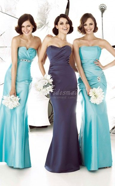 Sweetheart Bridesmaid Group Dresses(BD030)