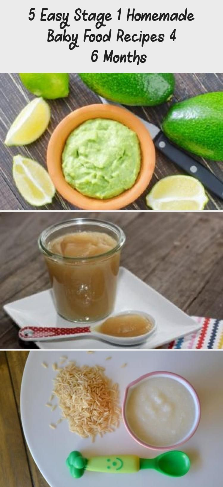 5 easy stage 1 homemade baby food recipes 4 6 months