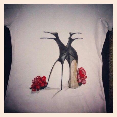 Zapatillas y Flores
