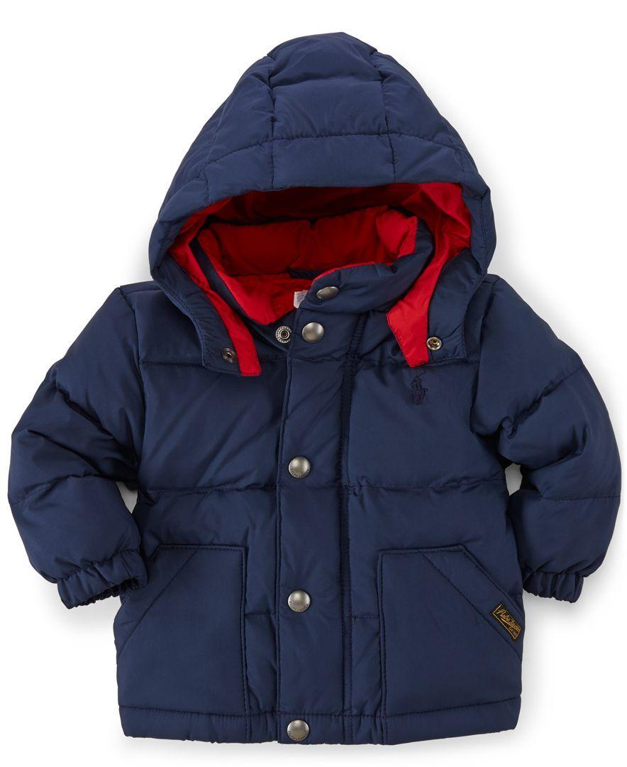 Ralph Lauren Baby Boys Elmwood Outerwear Jacket Kids Baby Macy S Boy Outerwear Outerwear Jackets Jackets [ 1080 x 884 Pixel ]