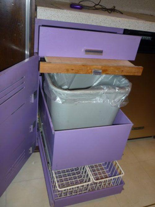 Purple And Walnut 1970 St Charles Metal Kitchen Metal Kitchen Metal Kitchen Cabinets Purple Kitchen