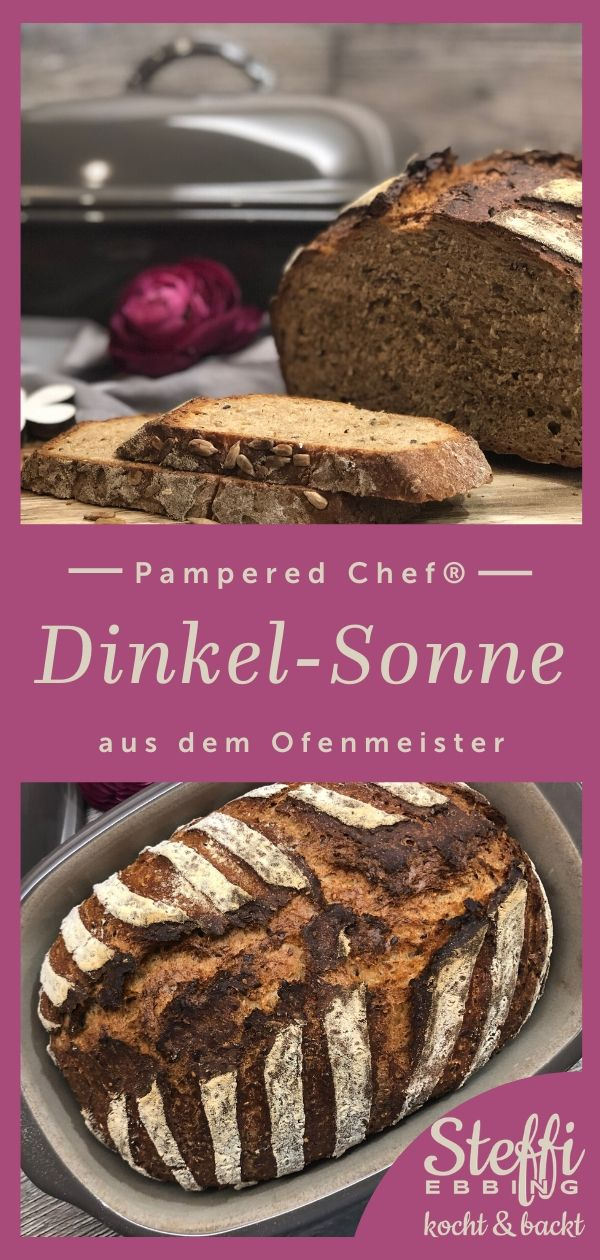 ᐅ Rezept Dinkel - Sonne ⇒ Ofenmeister von Pampered Chef® #potluckrecipes