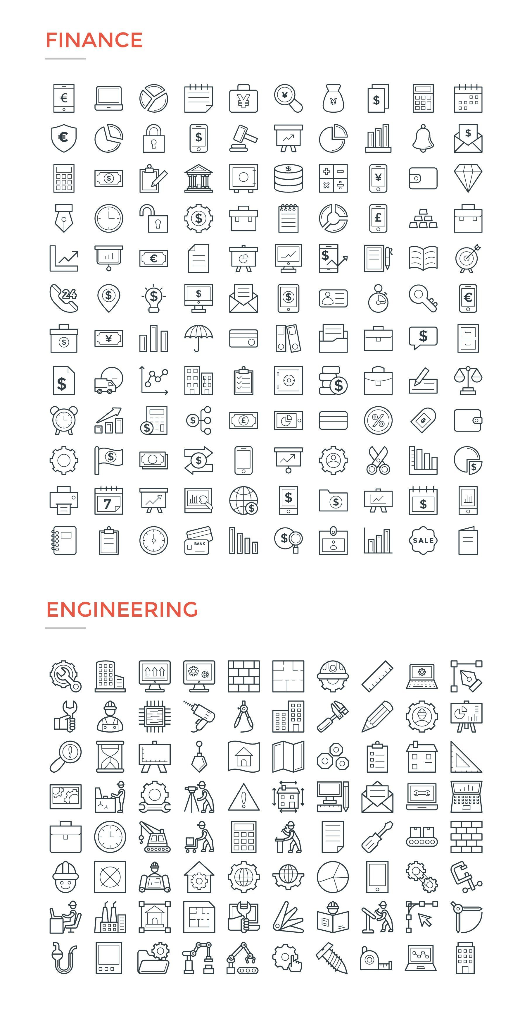 4800 Line Icons Pack Line Icon Business Icons Vector Restaurant Icon