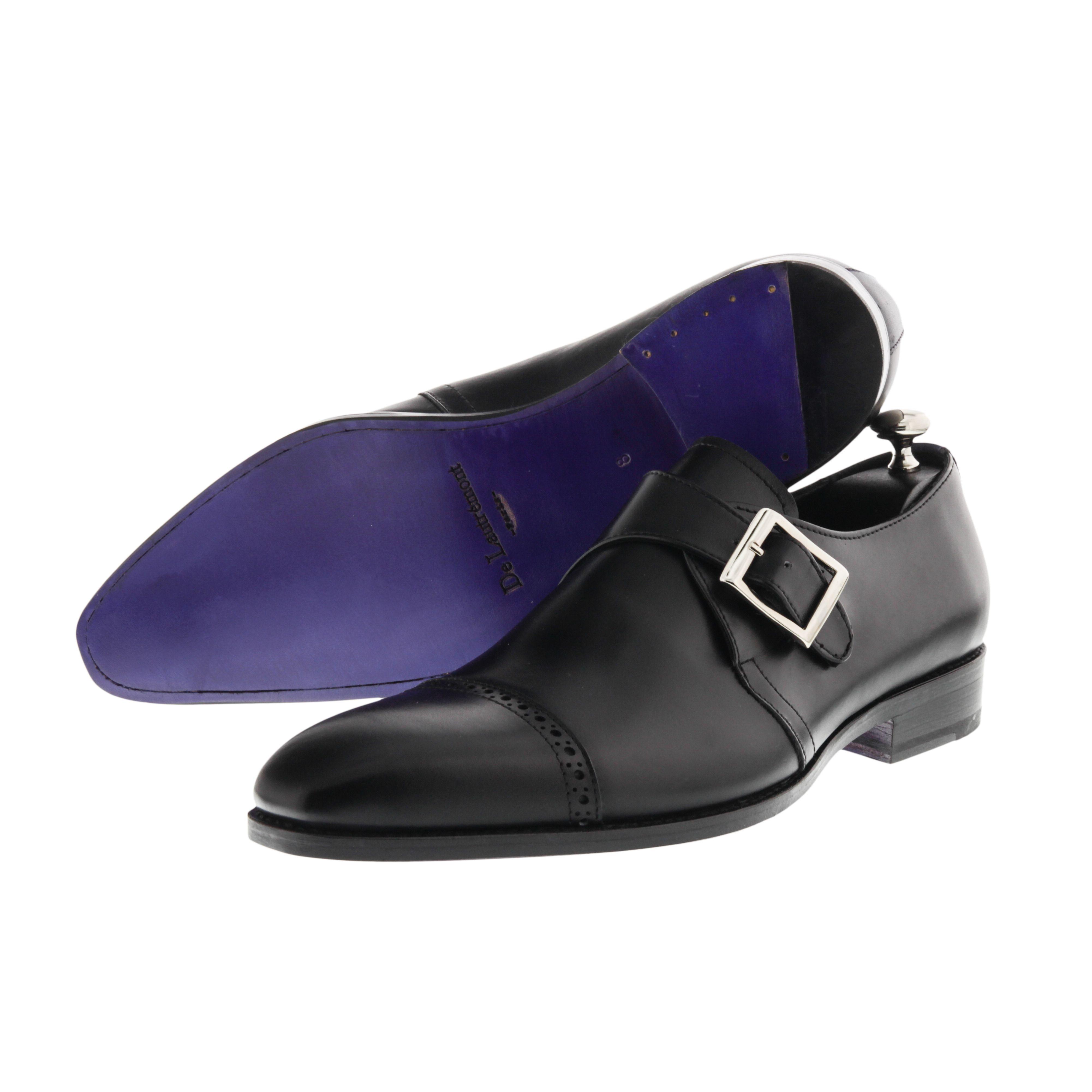 Modele Diplomate Avec Une Boucle Semelle Amarante Dress Shoes Men Mens Black Dress Shoes Prom Shoes [ 4002 x 4002 Pixel ]