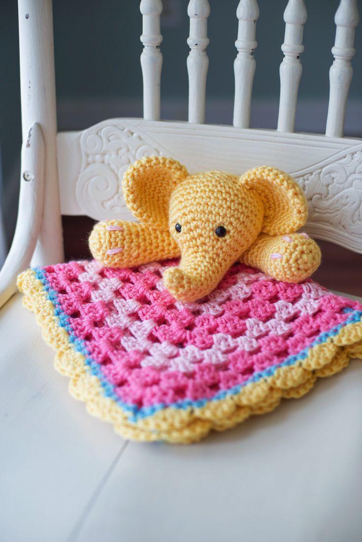 Resultado de imagen para free crochet pattern for blanket loveys ...