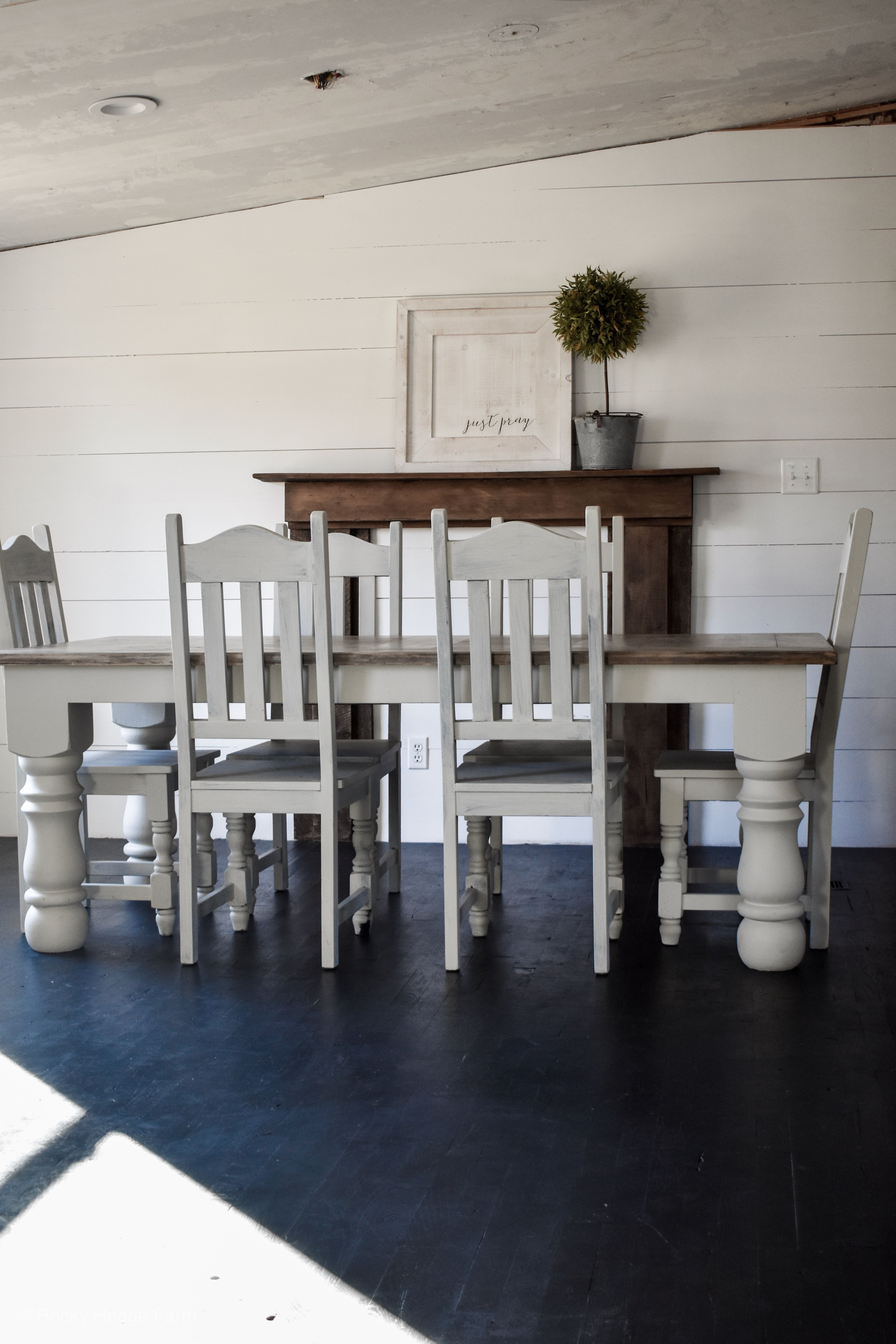 Farmhouse Mobile Home Dining Room Remodeling Mobile Homes Home