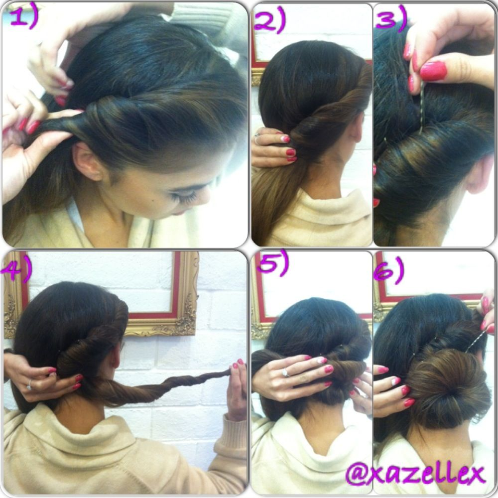 modified victorian roll tutorial | h a i r | hair styles