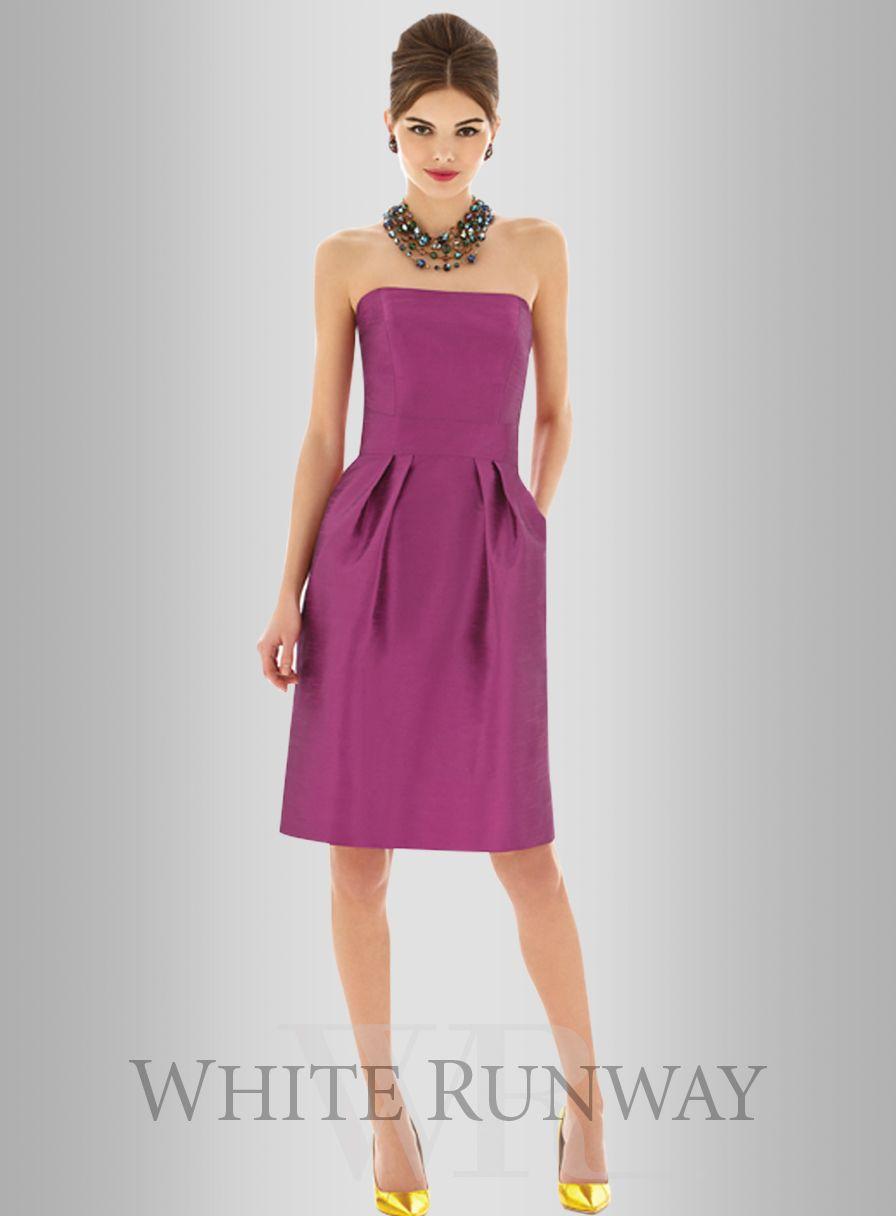 Dessy Fevola Dress #currentlyobsessed | moda | Pinterest