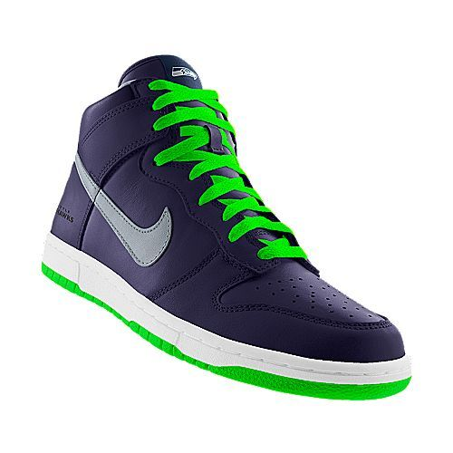 online store c3173 6636e Nike dunk high (nfl seattle seahawks)
