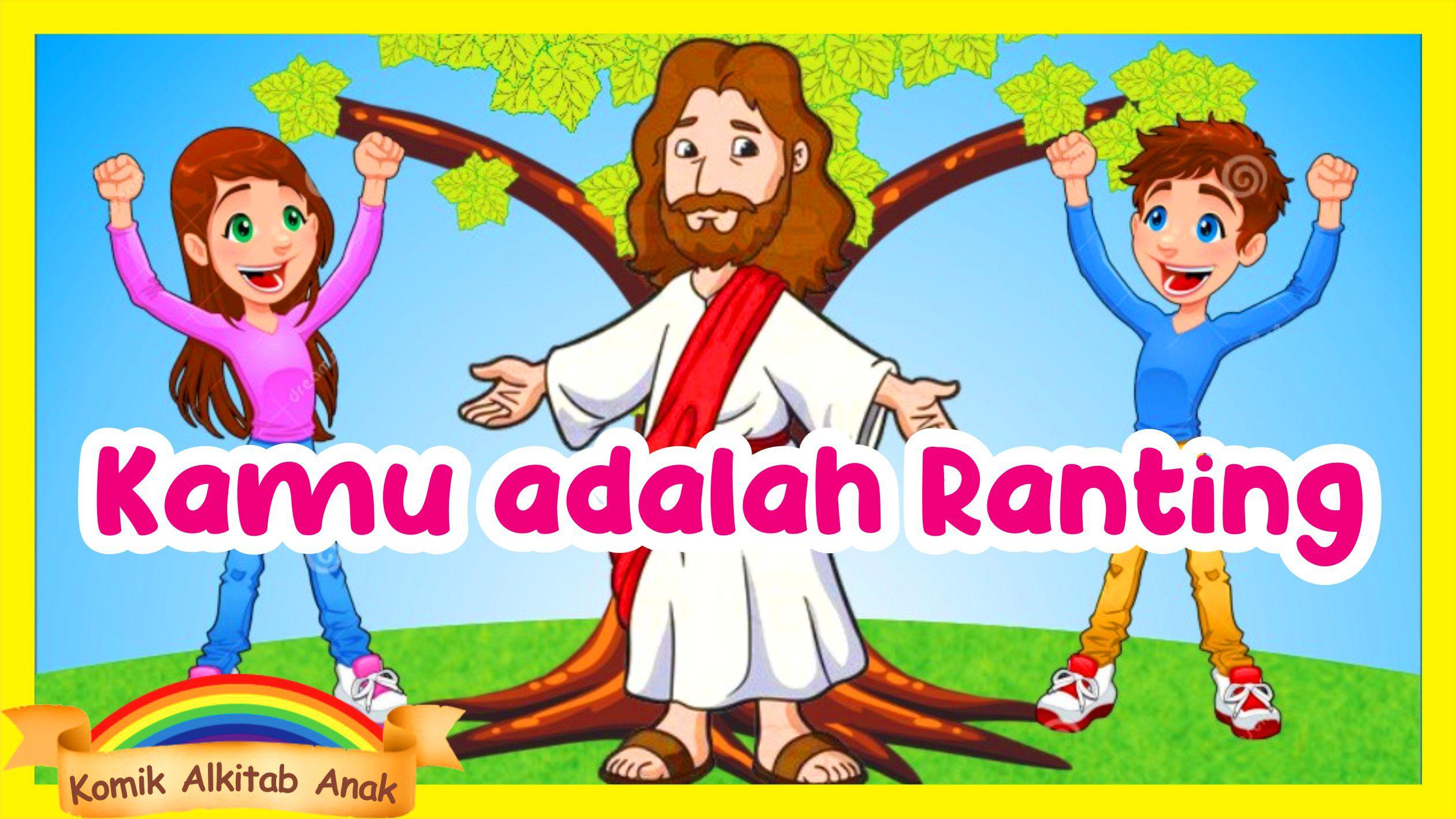 Pin Di Komik Alkitab Anak