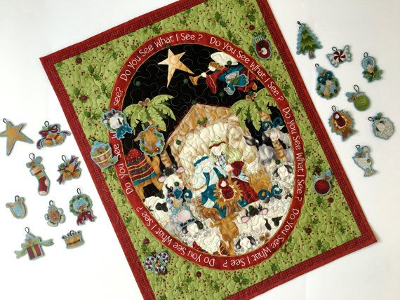 19 HOLIDAY TRADITIONS CHRISTMAS STOCKINGS WREATHS SNOW TREES FABRIC PANEL NO