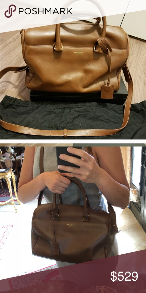 1a77852e7c1 Duffle bag YSL Bought it on Poshmark. Lovely bag, just want to purchase  another bag. Very very little wear, I didn t add any wear to it.