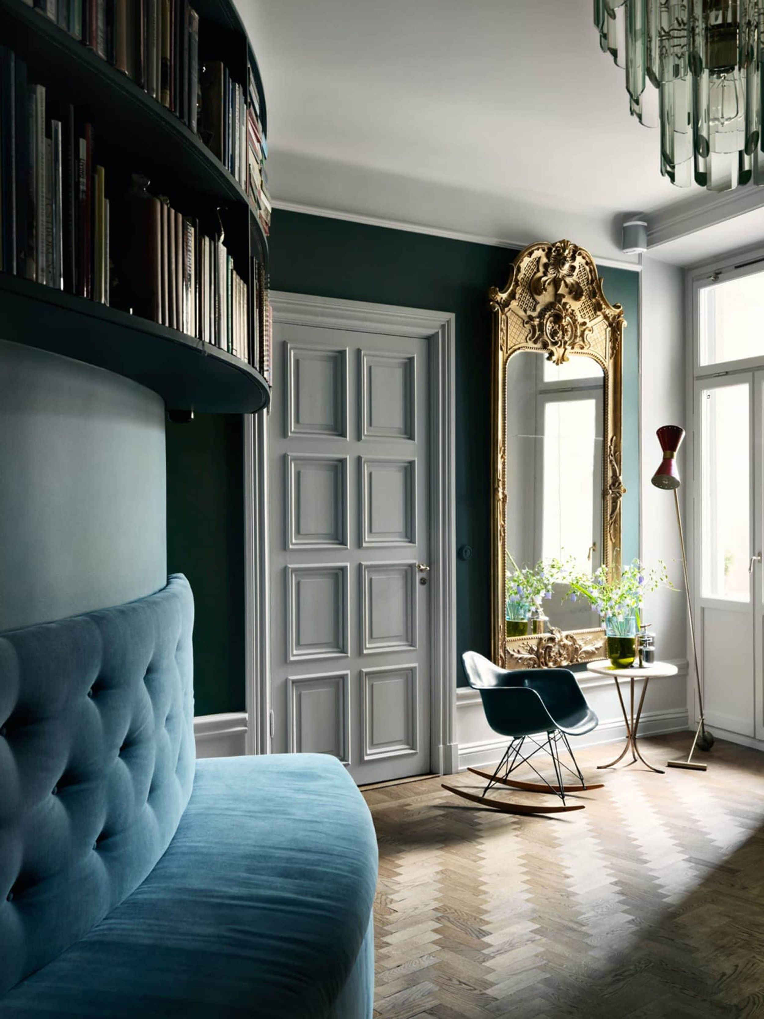 Modern victorian style eclectic mix of ornate contemporary and all around fun