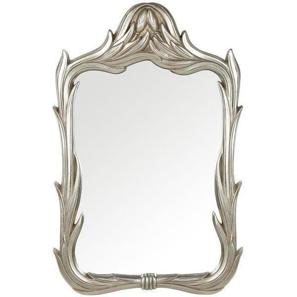 Innova Home innova home ornate tulip framed mirror 129 liked on polyvore