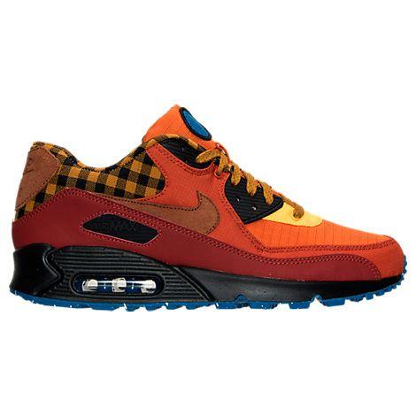 Men's Nike Air Max 90 Premium Running Shoes - 700155 600   Finish Line