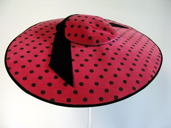 Hat,  Balenciaga, 1954.