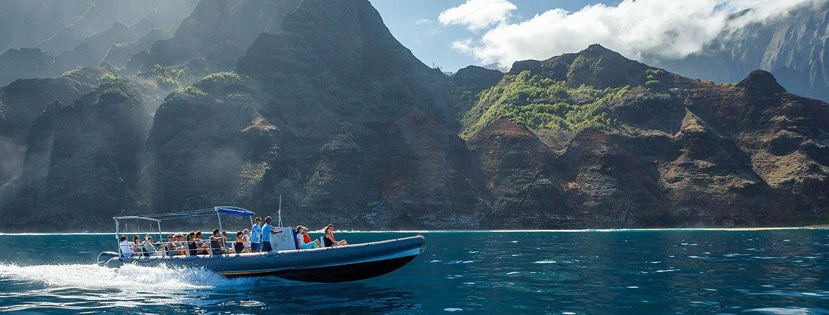 Afternoon Napali Adventure Hawaii Napali Coast Boat