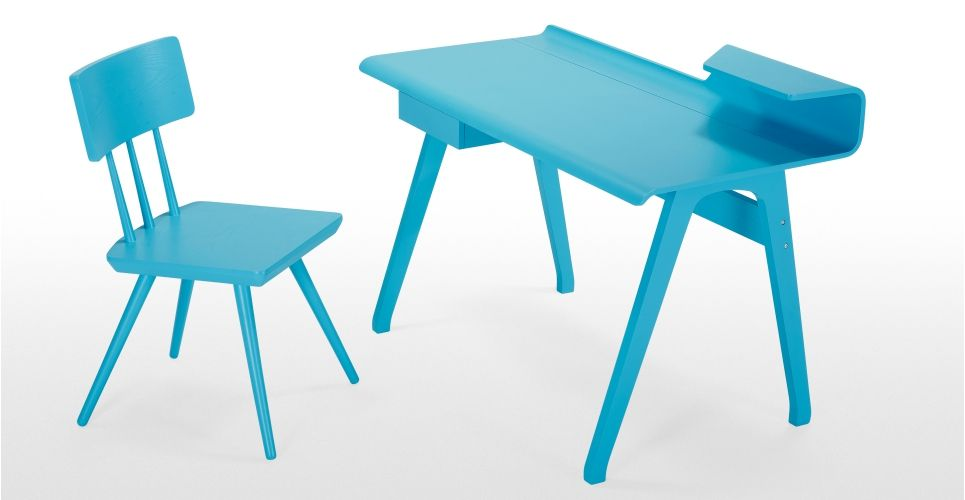 Cornell Robin Egg Blue Chair | Made.com | Made.com