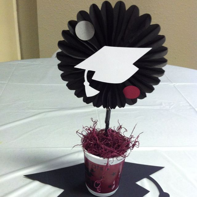 Graduation party table centerpieces my parties
