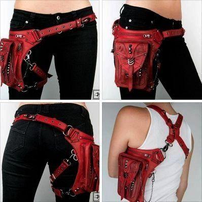 Penny Rocker und Shark Bite Bags von Jungle Tribe Tasche mit Gürtel für   Modische Taschen NEU Penny Rocker und Shark Bite Bags von Jungle Tribe Tasche mit G&uu...