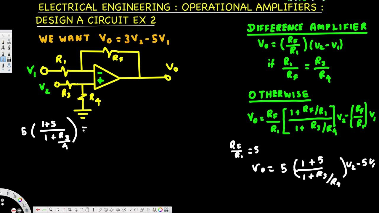 Electrical Engineering Operational Amp Design A Circuit Example Basic Op Circuits 2