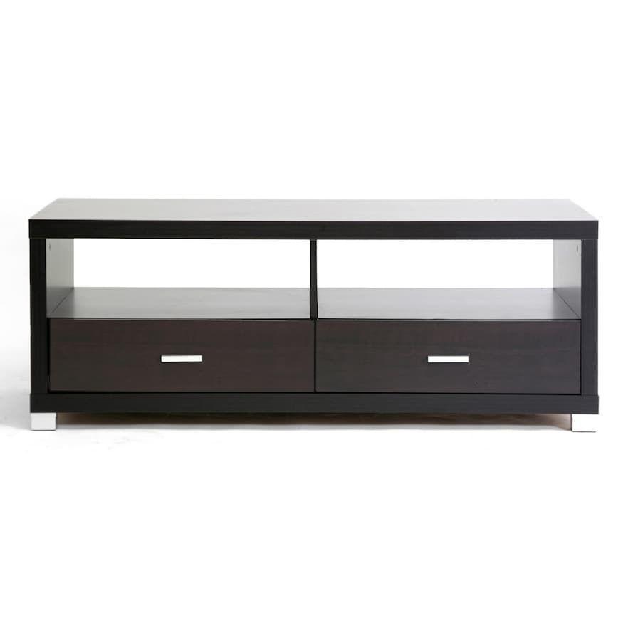 Baxton Studio Derwent Contemporary Coffee Table Tv Stand With Drawers Contemporary Coffee Table Coffee Table With Drawers
