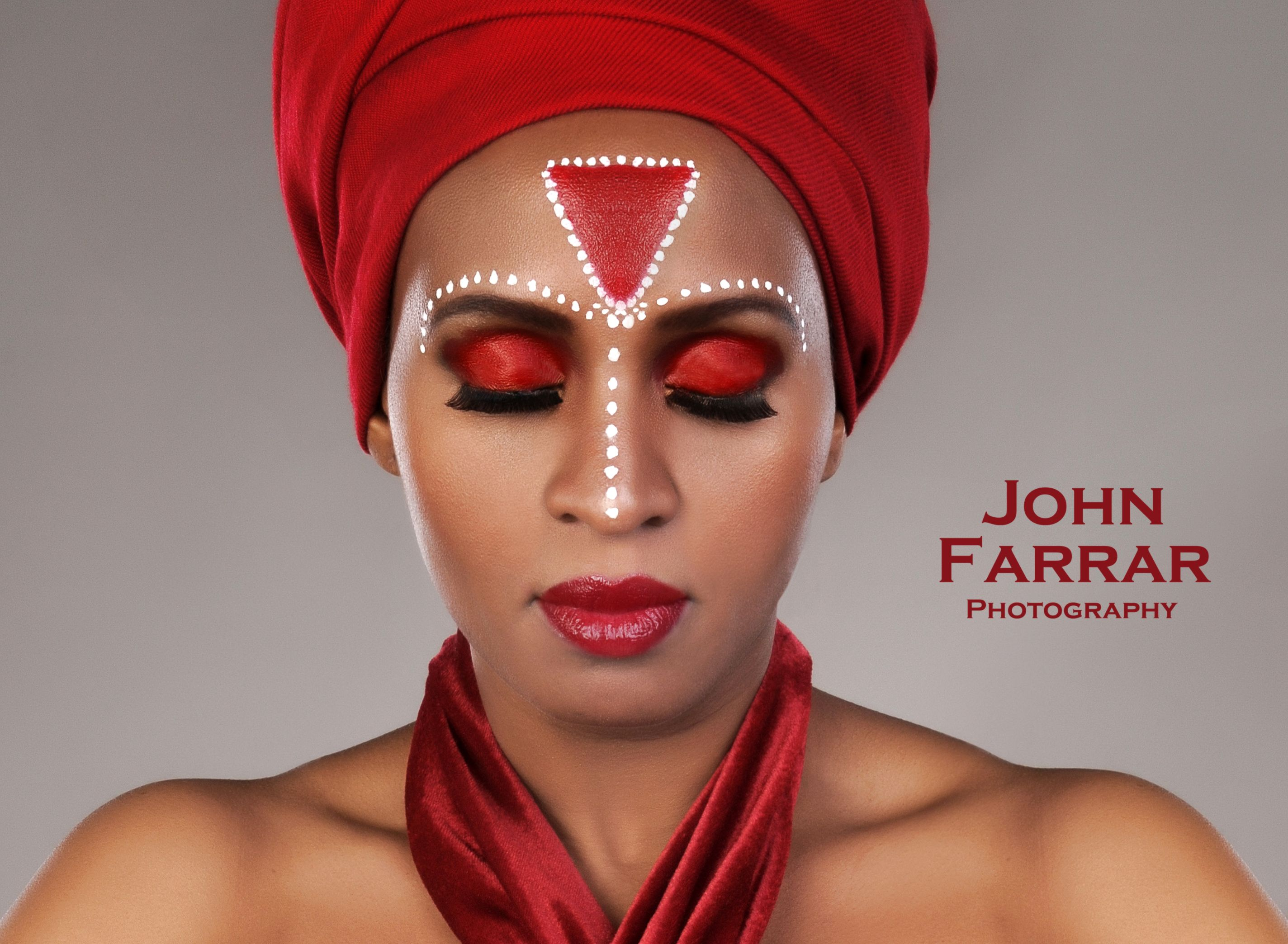Creative African inspired makeup by Zulfa makeup artist. I