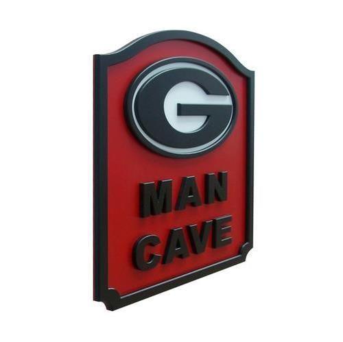 Georgia Bulldogs Uga Man Cave Shield Art Sign Man Cave Bar Man Cave Georgia Bulldogs