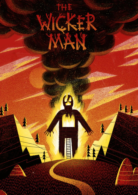 Oh, the Horror!   Horror movie art, Wicker man, Movie art