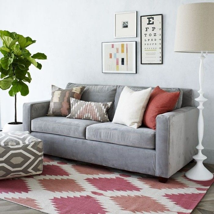 Diamond patterns are a sleek and simplistic option for the home