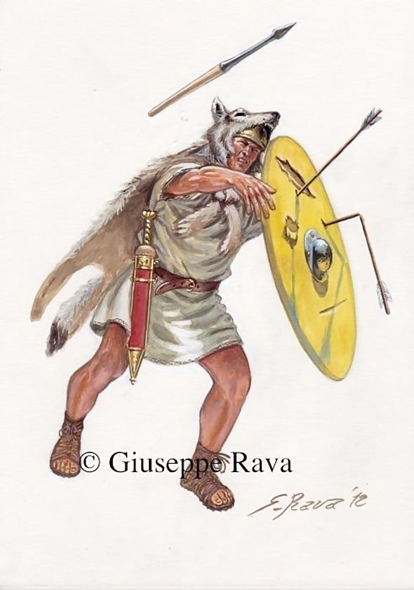 Velites (singular: veles) were a class of infantry in the Roman army of the mid-Republic. Velites were light infantry and skirmishers who were armed with a number of light javelins (Latin: hastae velitares) to fling at the enemy, and also carried short thrusting swords, or gladii, for use in melee.