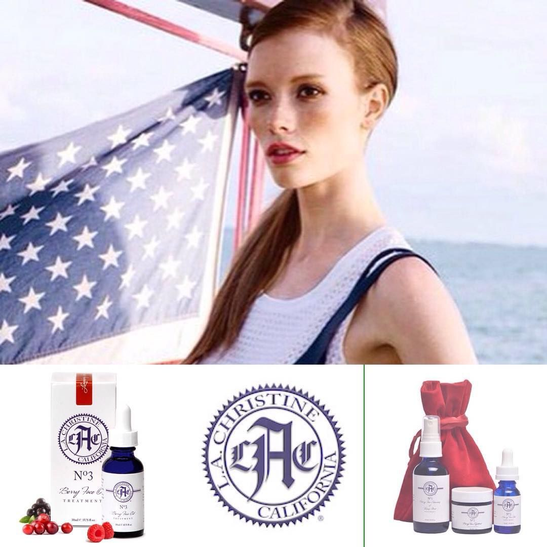 L.A. Christine celebrate Memorial Day - Protect your skin