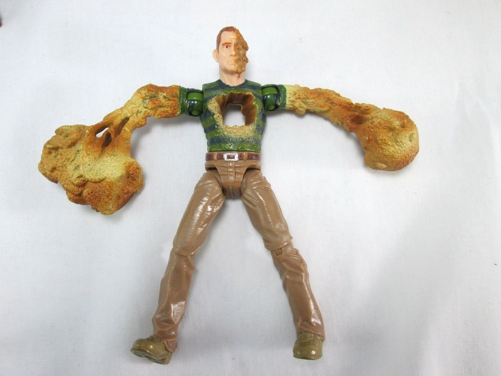 "HAMMER ATTACK SANDMAN 5"" Action Figure wind up spin Marvel ..."