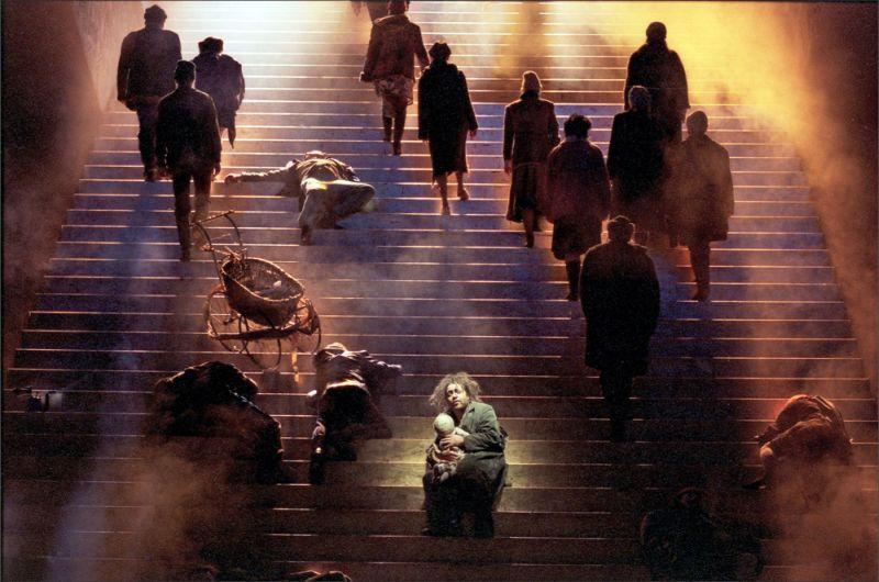 BORIS GODUNOW  Inszenierung Philipp Himmelmann Nationaltheater Mannheim