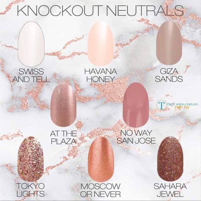 DIY Manicure Neutral Colors