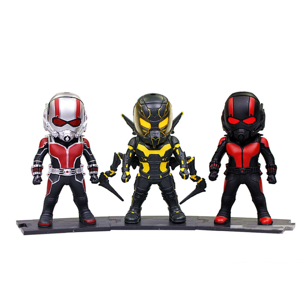 """(41.91$)  Watch now - http://aibjv.worlditems.win/all/product.php?id=32792250626 - """"3pcs Superhero  Marvel the Avengers Hero Ant Man Ant-Man LED Light Up 3"""""""" PVC Figure Toys Collection Christmas Gift DC012070"""""""