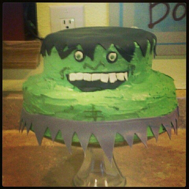 Diy hulk birthday cake with images hulk birthday cakes