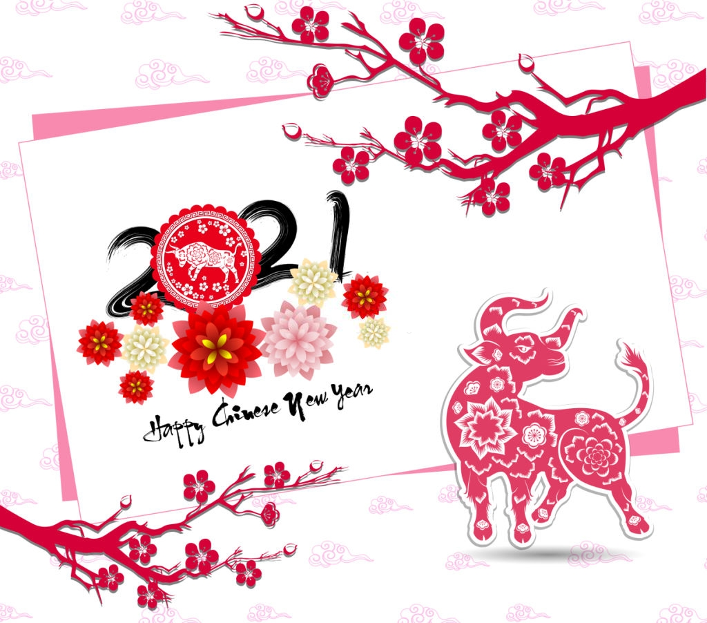 Happy Chinese New Year 2021 Wallpaper in 2020 Happy