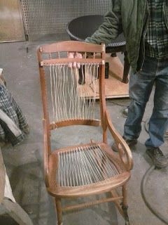 Superieur Lincoln Rocking Chair Restoration Project Before And After! #diy