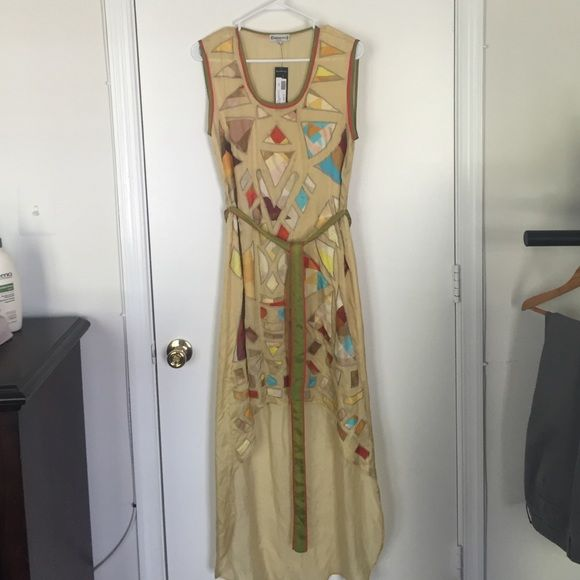 Anthropologie Conditions Apply dress Brand new, with tags, Conditions Apply dress from Anthropologie. Hi-lo cut. Size small, fits loose and flowy. Open to offers. Anthropologie Dresses