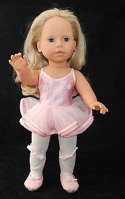 Enthusiastic Porzellan Puppe Ballarina Dolls & Bears Dolls
