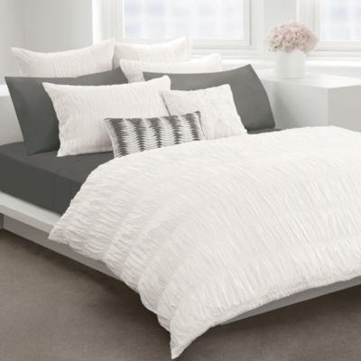 Dkny Willow White Duvet Cover By Dkny 100 Cotton Bedbathandbeyond Com White Duvet White Duvet Covers White Bedding