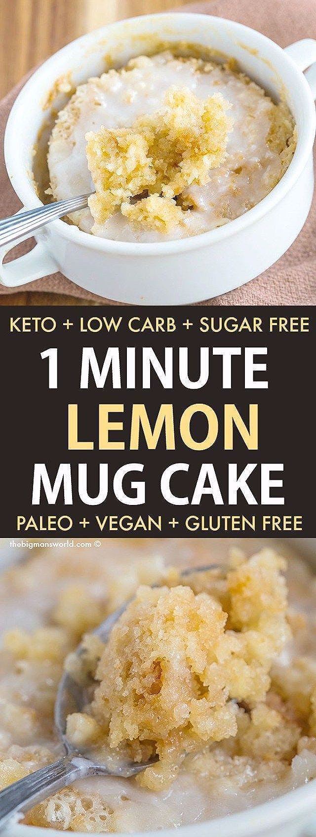 Photo of Healthy 1 Minute Iced Lemon Pound Cake (Starbucks Copycat)