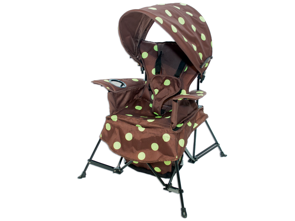 The Go With Me Chair from Kelsyus - in the ever popular Green Dot style!