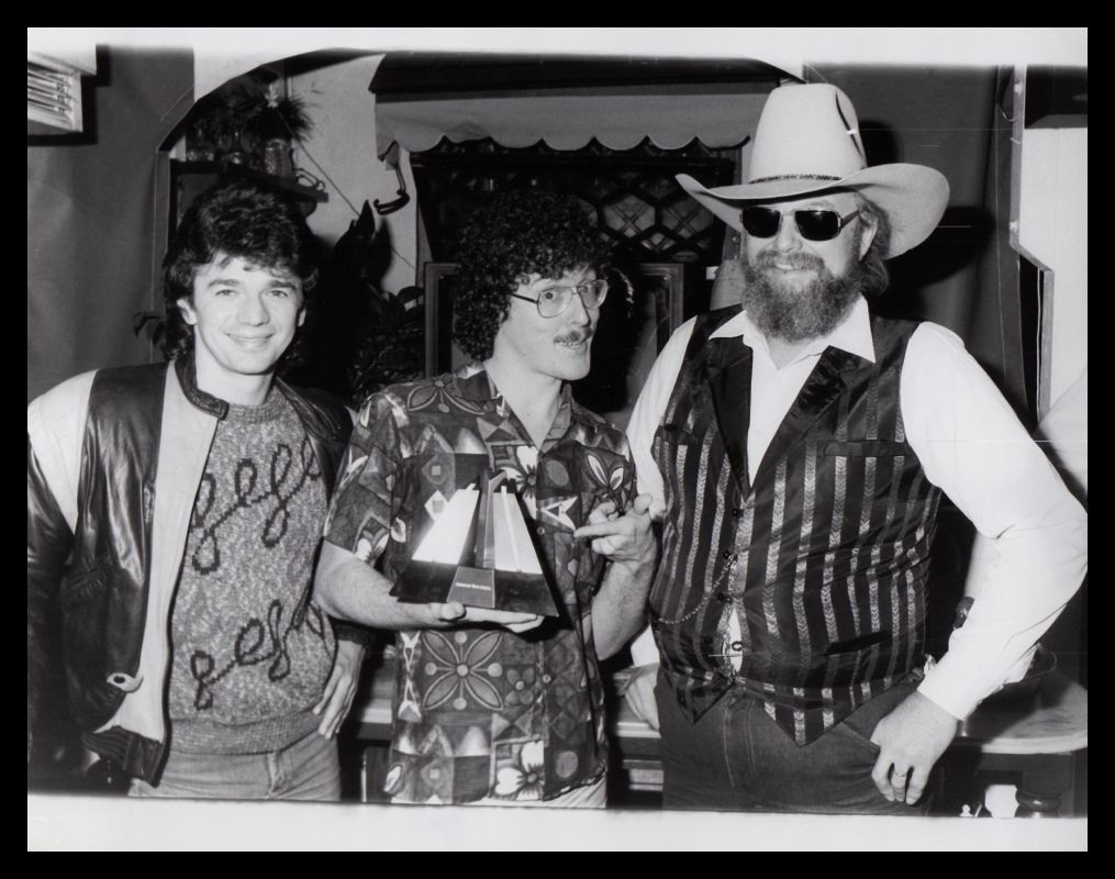 1985 ADRIAN ZMED, WEIRD AL YANKOVIC & CHARLIE DANIELS Vintage ...