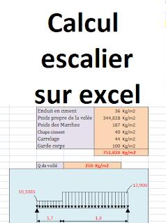 Calcul Escalier Sur Excel Calcul De Nombre De Marches Et Nombre De