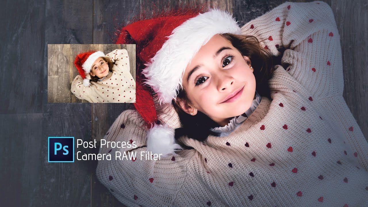 Photoshop Tutorial | How to Edit Christmas Photo | Camera