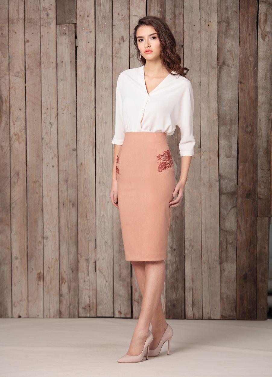 рубашка Осень-зима 2016-2017. Burvin - белорусский бренд женской одежды. ec0629ff9e7