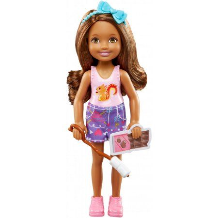 Mattel Barbie Camping Fun Chelsea  new